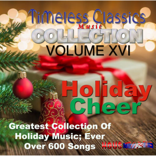 Timeless Classics Volume XVII Holiday Cheer Cover